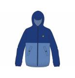 Lyle and Scott Jacket colour block lake blue blauw