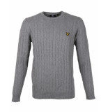 Lyle and Scott Pullover kn732v grijs