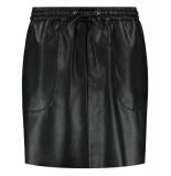Fifth House Rok fh3-616 mod short skirt zwart
