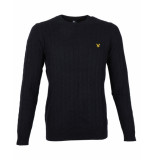 Lyle and Scott Pullover kn732v blauw