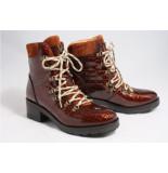 Via Vai 5304052 biker boots cognac