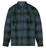 Denham tank shirt blauw
