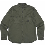 Denham iron shirt groen