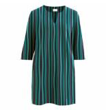 VILA Visalli stratella 3/4 dress blauw