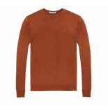 Scotch & Soda Crew neck pullover bruin