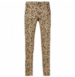 Maison Scotch Printed trousers beige