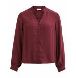 VILA Visiggy l/s shirt rood