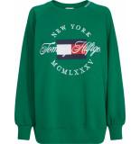 Tommy Hilfiger Lola sweater groen