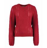 Harper & Yve Pullover fw19r503 rood
