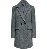 Only Onlally boucle wool coat cc otw 15180902 balsam green/melange groen