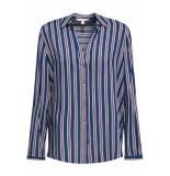 Esprit Overhemdblouse met strepenprint 099ee1f001 e400 blauw