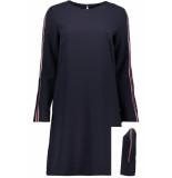 Esprit Geweven jurk met racestrepen 099ee1e023 e400 blauw