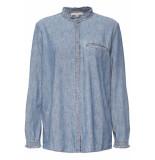 Esprit Denim blouse 089ee1f017 e420 blauw