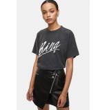 Anine Bing T-shirt lili tee bing black zwart