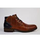 Bullboxer Boot 732k55843a cognac antraciet