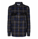 Co'Couture Shirt 95121 mardi check army
