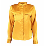 Harper and Yve Lange mouw blouse simy-ls fw19x600 okergeel