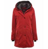 Fuchs Schmitt Coat 200144271 rood