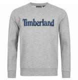 Timberland Linear logo sweat grijs