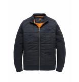 PME Legend Psw195410 5281 zip jacket structure sweat salute blauw