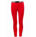Little Looxs Sweat broekje voor meisjes in de kleur rood