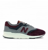 New Balance Men cm997 red navy rood