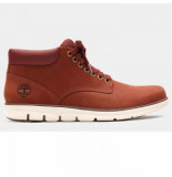 Timberland Men bradstreet chukka leather rust rood