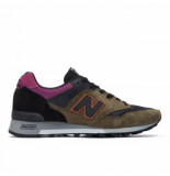 New Balance Men m577 black pink zwart