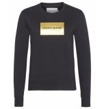 Calvin Klein Sweatshirt j20j212245 zwart