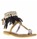 Hot Lava Dames sandalen zwart