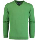 Basefield V- pullover 219014478/502 groen