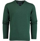 Basefield V- pullover 219014478/503 groen
