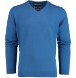 Basefield V- pullover 219014478/605 blauw