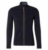 Tom Tailor Heren vest modern navy blauw