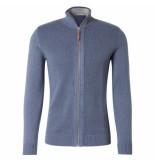 Tom Tailor Heren vest modern blauw