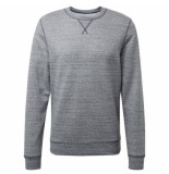 Tom Tailor Heren trui sweater ronde hals grijs blauw