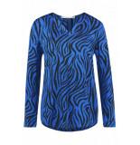 Aaiko Merida zebra vis blauw