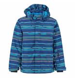 Color Kids Jongens ski jas dartwin 10.000mm waterkolom blauw