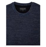 Cavallaro Cavallaro pullover aranido 1895008-63000 blauw