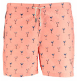 Sanwin Swimshort venice/cocktail roze