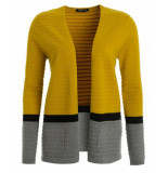 Frank Walder Vest w92109050 geel