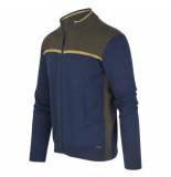 Blue Industry Vest blauw