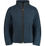Gate One G1 stepp-blouson 1121n3027/44 blauw