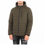 Moose Knuckles Fulcret mid lth hoodie groen