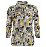 Frank Walder T-shirt w92109420 geel
