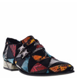 New Rock Loafers multi patchwork