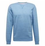 Tom Tailor Heren trui sweater ronde hals blauw
