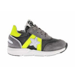 Pinocchio Sneaker geel donker grijs