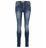 Bianco Jeans Baggy jeans 1219448-dahlia mbd blauw denim