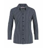 Studio Anneloes 02915 poppy stripe shirt blauw